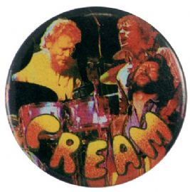 Cream - 'Stage Collage' Button Badge